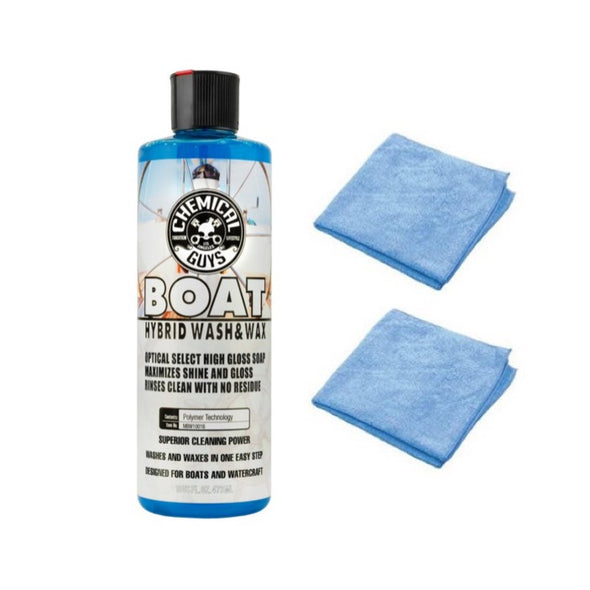 Chemical Guys Marine and Boat Hybrid Wash and Wax - Detailing Connect