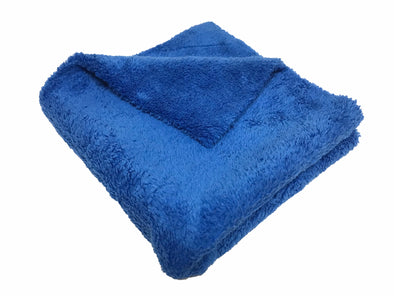 "Microfiber 16""x16"" Edgeless Plush Towel Blue - Detailing Connect"