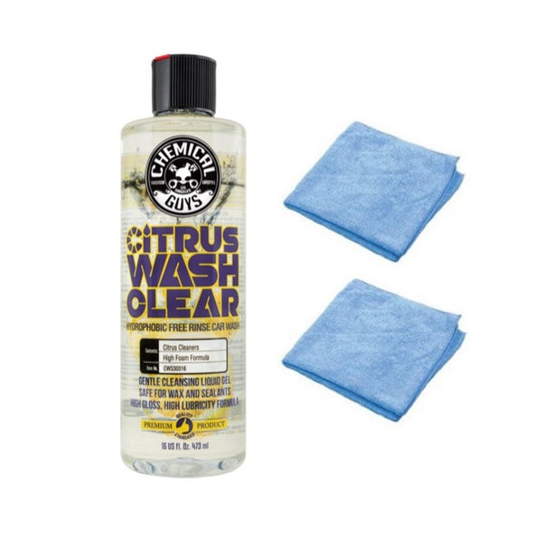 Chemical Guys Citrus Wash Clear Car Wash - Detailing Connect