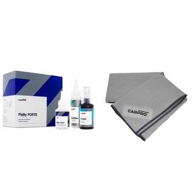 CarPro FORTE Professional Windshield Coat 15ml KIT & Glass Towel - Detailing Connect