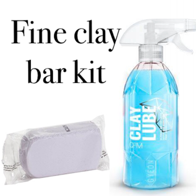 Fine Clay Bar Kit - Detailing Connect