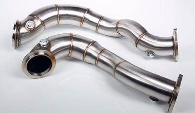 VRSF N54 Catless Downpipes (Xi / Drive) for 2007-2010 BMW 335Xi / X Drive - Detailing Connect