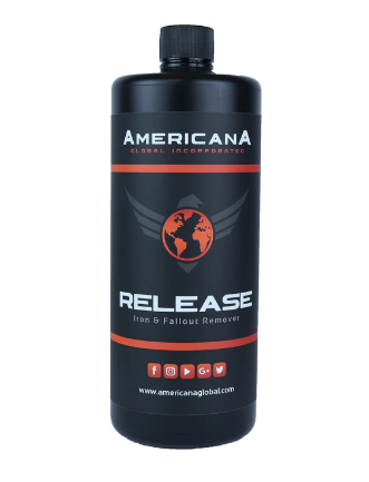 Americana Release Iron and Fallout Remover 32oz - Detailing Connect