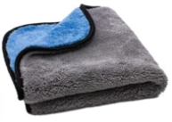 Extra Fluffy Microfiber Rinseless / Waterless Wash Cloth & Polishing Towel 700 gsm, 16 in. x 16 in - Detailing Connect
