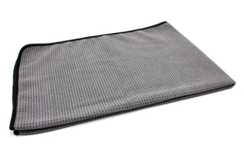 Microfiber Waffle Weave Car Drying Towel 400 gsm, 25 in. x 36 in. - Detailing Connect