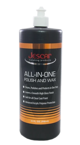Jescar All in One Polish and Wax 32oz - Detailing Connect