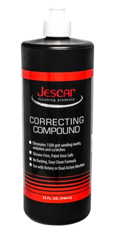 Jescar Correcting Compound 32oz - Detailing Connect