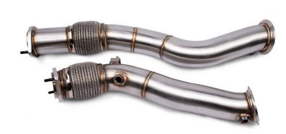 VRSF Stainless Steel Race Downpipes(Catted) for 2019 – 2022 BMW X3M & X4M S58 F97 F98 - Detailing Connect