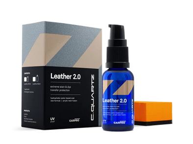 CQUARTZ Leather 2.0 - 30ml Kit - Detailing Connect