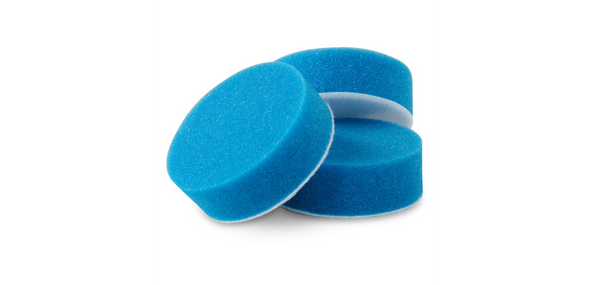 "3"" Blue Applicator Pads, Set of 3 - Detailing Connect"