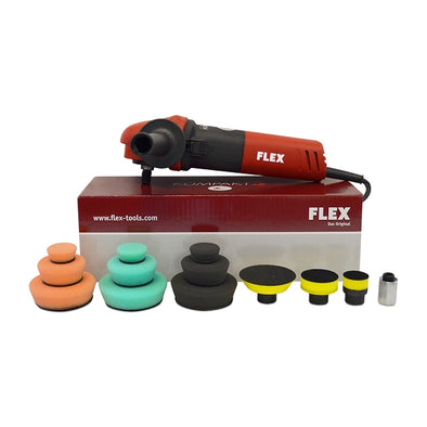 Flex PE8 Kompact Rotary Polisher Kit - Detailing Connect