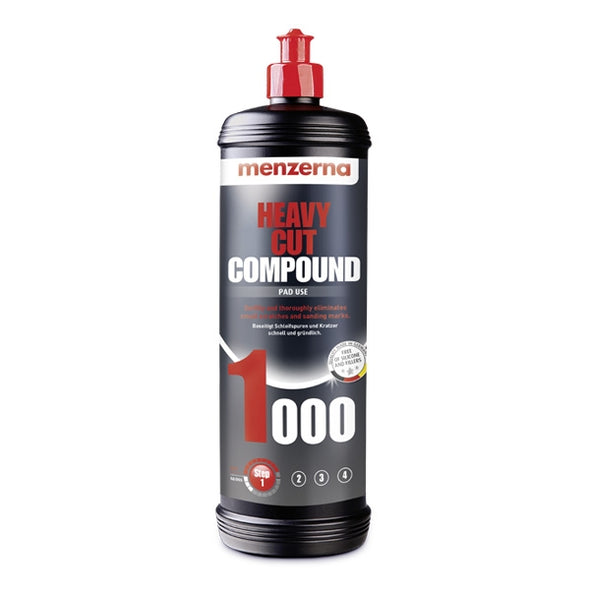 Menzerna Heavy Cut Compound 1000 32 oz. - Detailing Connect