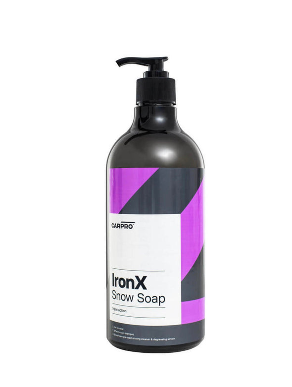 CarPro Iron X Snow Soap 1 Liter (34 oz) - Detailing Connect