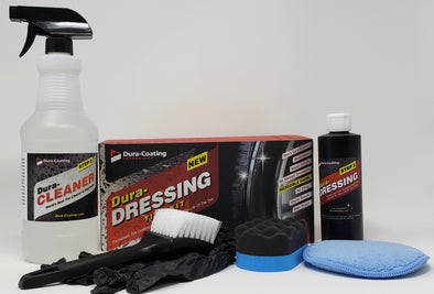 DURA-DRESSING TOTAL TIRE KIT XL (2-3 CARS/1 LARGE TRUCK) - Detailing Connect