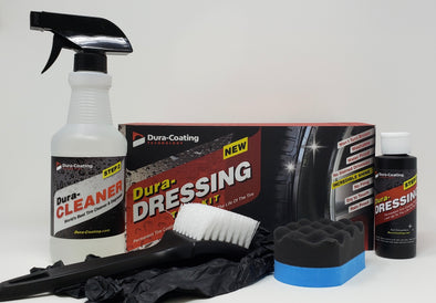 Dura-Dressing Total Tire Kit (Single Car Kit) - Detailing Connect