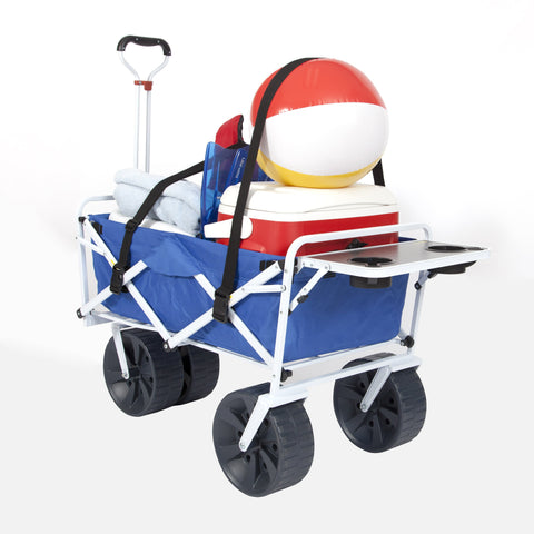 All Terrain Beach Wagon with Side Table Combo with Straps