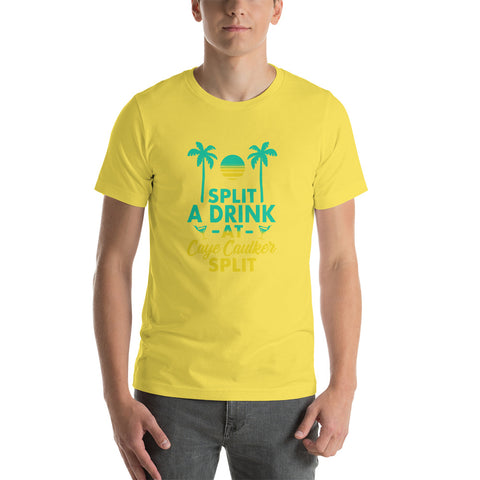 The Split at Caye Caulker, Belize.  Unisex T-Shirt
