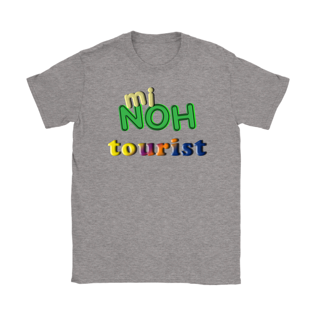 mi NOH tourist -- Belizean Kriol T-Shirt