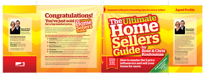 The Ultimate Home Sellers Guide by YOU. Build your OWN brand by becoming the published author of your own cool looking lead-generating book.