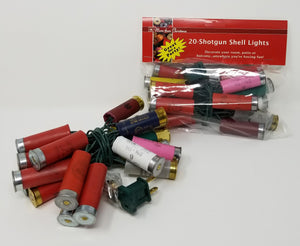 Light Set - Shotgun Shell Light String - 20 Lights - Multi Color