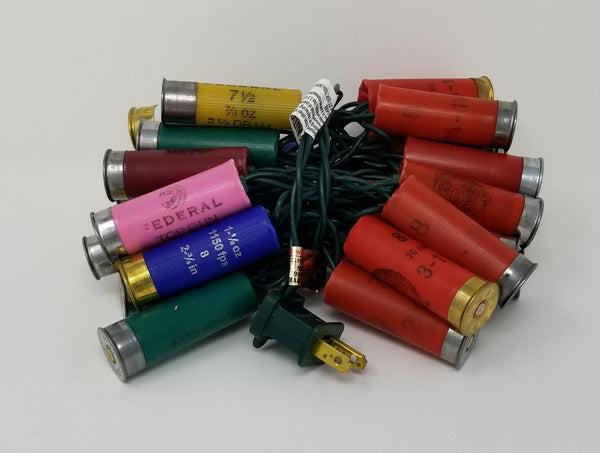 Light Set - Shotgun Shell Light String - 35 Lights - Multi Color