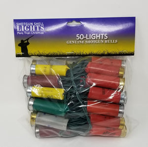 Light Set - Shotgun Shell Light String - 50 Lights - Multi Color
