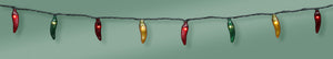 Chile Pepper Light String 35 Lights - Red/Green/Yellow