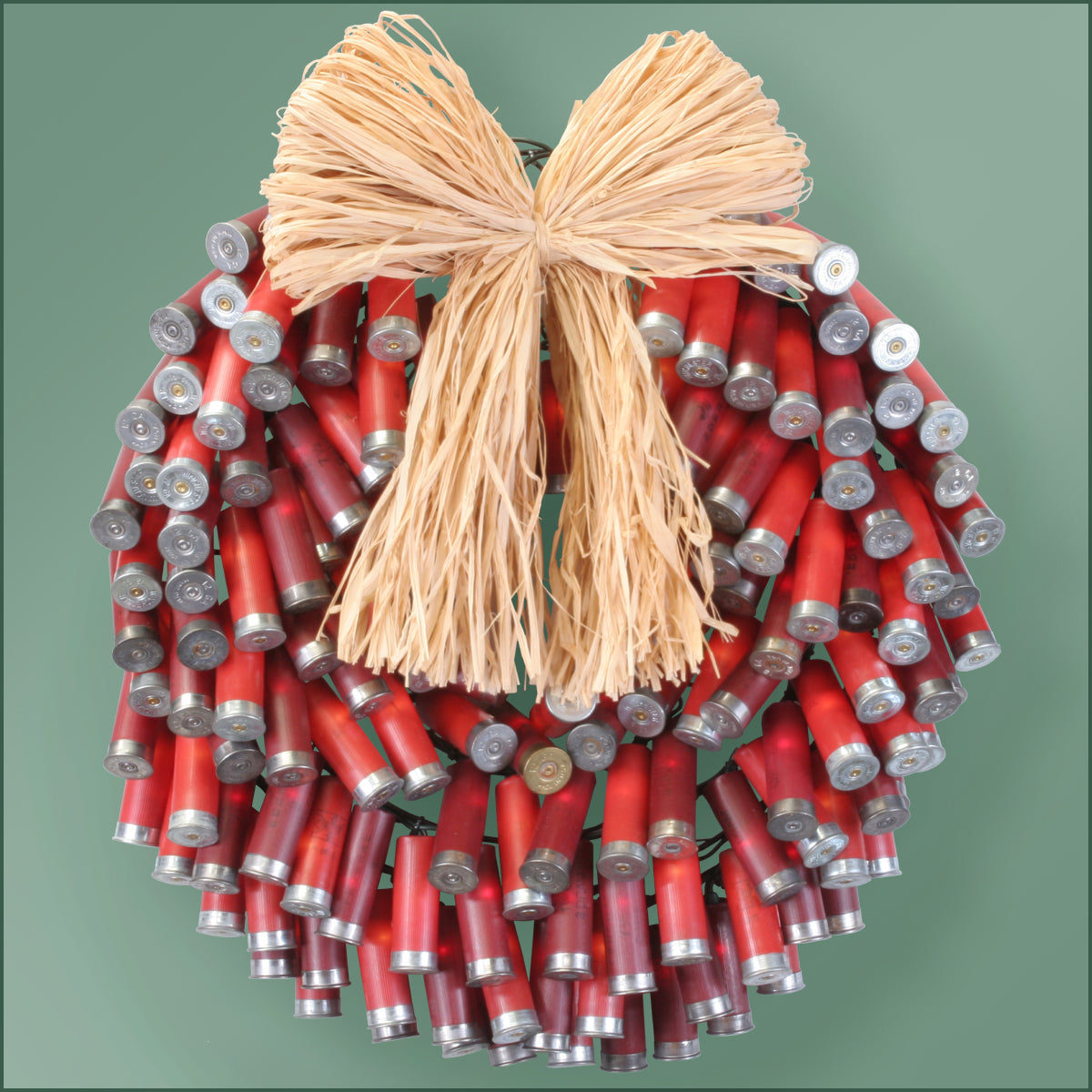 Light Set - Shotgun Shell Lighted Wreath - 150 Lights - Red
