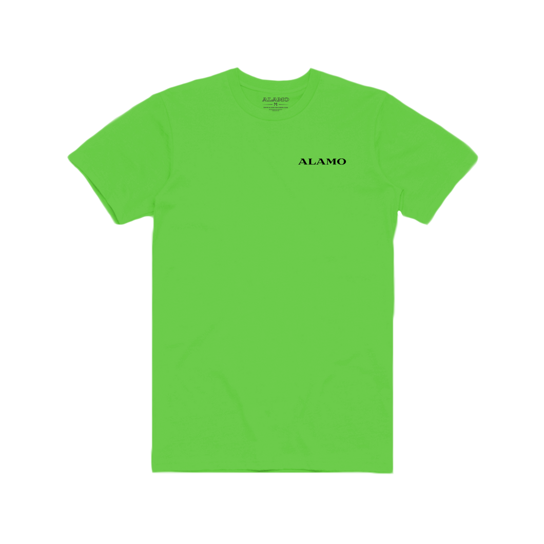 Square Logo T-Shirt - Neon Green