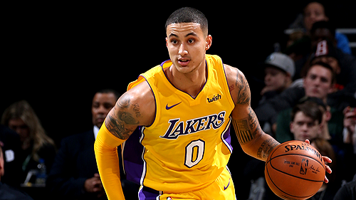 Kyle Kuzma goes off for 38 against the Rockets