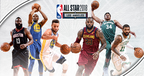 NBA All Star Rosters 2018 (East & West)