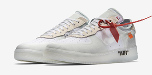 "NOW AVAILABLE: Nike Air Force 1 Low ""Off-White"" THE 10 COLLECTION"