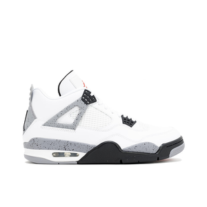 "AIR JORDAN 4 RETRO ""CEMENT"" (WHITE)"