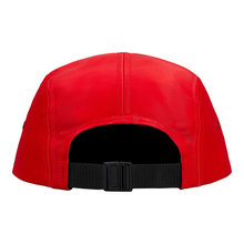 "SUPREME - CAMP CAP ""LIQUID SILK"" - RED (F/W 2018)"