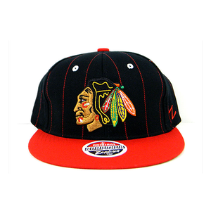 "ZEPHYR - ADJUSTABLE SNAPBACK HAT ""CHICAGO BLACKHAWKS"""