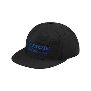 SUPREME - SURVIVAL NYLON 6 PANEL - BLACK (F/W 2017)