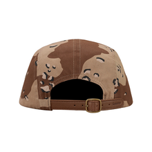 SUPREME - WASHED CHINO TWILL CAMP CAP - DESERT CAMO (F/W 2017)