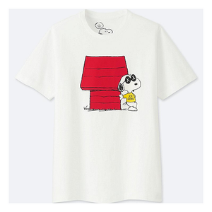 "KAWS - PEANUTS KID'S TEE ""SNOOPY'S DOGHOUSE"""