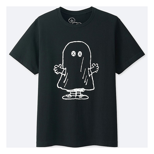 "KAWS - PEANUTS MEN'S TEE ""GHOST"""