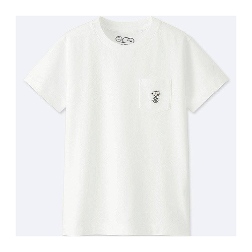 KAWS - PEANUTS KID'S POCKET TEE
