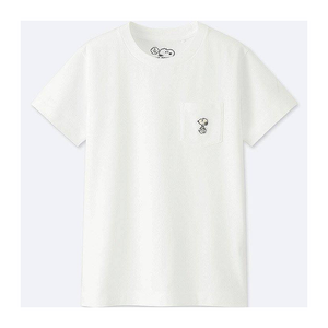 "KAWS - PEANUTS KID'S POCKET TEE ""SNOOPY SWAG"""