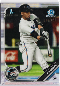 2019 TOPPS BOWMAN VICTOR VICTOR MESA 1ST BOWMAN ROOKIE SP #334/499