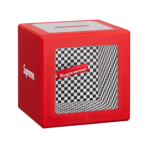 SUPREME - ILLUSION COIN BANK - RED (S/S 2018)