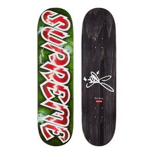 "SUPREME - SKATEBOARD DECK ""LEE LOGO"" - RED (S/S 2018)"