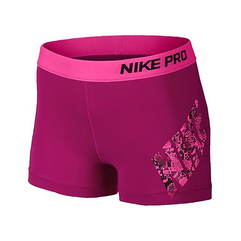 NIKE - PRO LOGO 3 TRAINING SHORTS