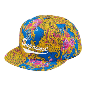 "SUPREME - 5-PANEL ""PAISLEY"" - BLUE (F/W 2017)"