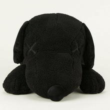 "KAWS - ""SNOOPY"" PLUSH BLACK EDITION (SMALL)"