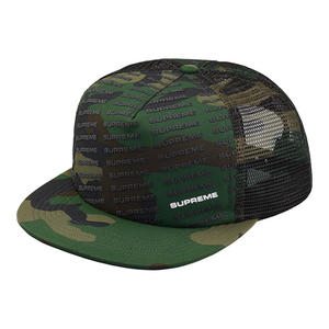 "SUPREME - 5-PANEL ""REPEAT MESH BACK"" - CAMO (S/S 2018)"