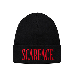 "SUPREME - ""SCARFACE"" BEANIE - BLACK (F/W 2017)"