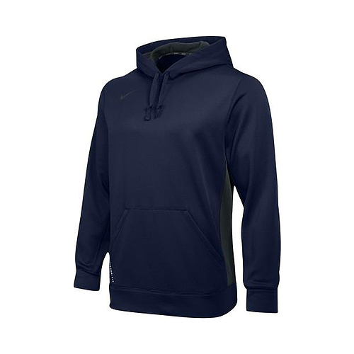 NIKE - MEN'S TEAM KO THERMAFIT PULLOVER HOODIE (NAVY)
